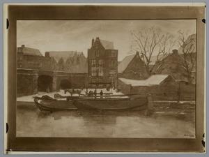 Pakhuizen op het Prinseneiland te Amsterdam