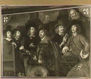 Regenten van het Waterschapscollege, 1644