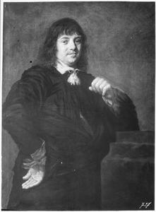 Portret van Adam van Hasevelt, regent van Aalmoezeniers Arm- en Werkhuis te Haarlem