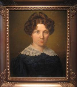 Portret van Charlotte Elisabeth Ottilia Marie Ewald (1797-1877)