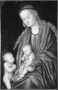 Madonna met kind en de kleine Johannes