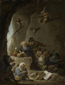Verzoeking van de heilige Antonius de Heremiet