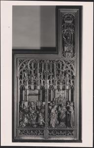 De aanbidding van de Wijzen, de presentatie in de tempel, H. Jacobus de Meerdere