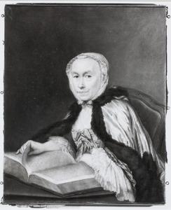 Portret van Johanna Capelle (1698-1774)