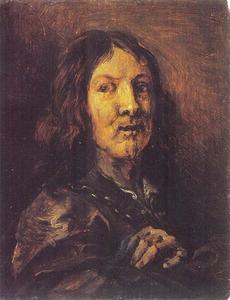 Zelfportret van Gerard Seghers (1591-1651)