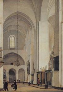 Het transept van de kathedraal te Århus