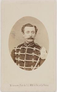 Portret van Hendrik Pieter Cornelis de Pauw Gerlings (1837-1920)