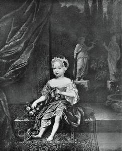 Portret van Johanna Charlotte von Anhalt-Dessau (1682-1750)