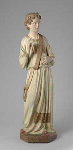 Engel uit een Annunciatie-groep