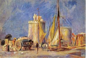 De haven van La Rochelle