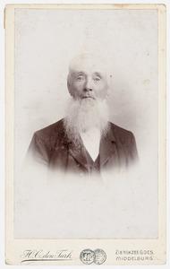 Portret van dhr. H. Kramer
