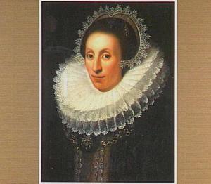 Portret van Sara Werbrouck (1598-1635), echtgenote van Renier van Wesenbeeck en Theodore Bosschaert