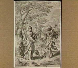 Christus en Johannes de Doper