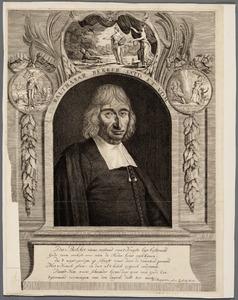 Portret van Balthasar Bekker (1634-1698)