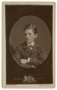 Portret van een jongen, waarschijnlijk Felix van der Wissel (1864-1944)