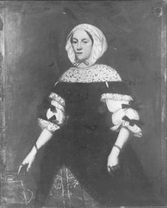 Portret van Maria Nuppenay geboren Holzmann