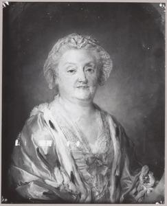 Portret van Elisabeth Christina van der Dussen (1695-1766)