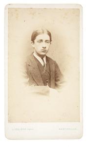 Portret van Jan Marie Gülcher (1849-1939)