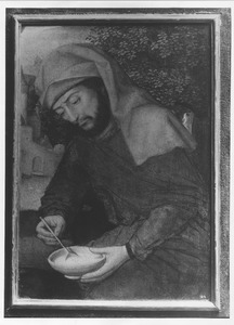Jozef met een papkom (fragment)