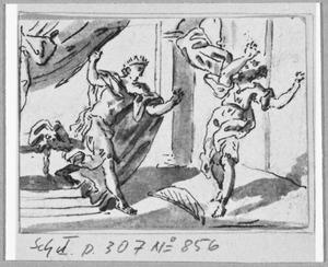 Saul probeert David ten tweede male  te doden (1 Samuel 19:9-11)