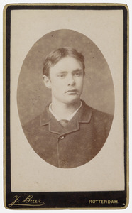 Portret van Christiaan Joannes Vaillant (1855-1919)