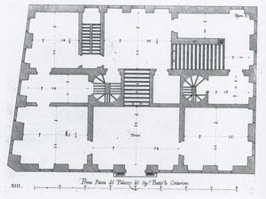 Palazzo Centurione: Grondplan