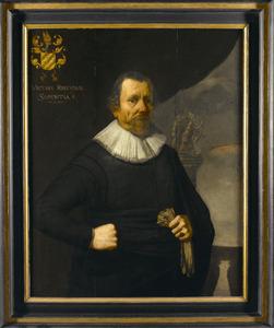 Portret van Pieter Cornelisz. van Everdingen (1575-1662)