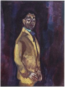 Portret van de acteur Jan Musch (1875-1960)