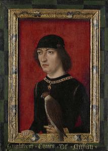 Portret van Engelbert II (1451-1504), graaf van Nassau, heer van Breda