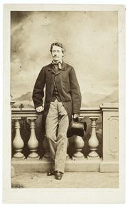 Portret van Jan Derck Adolph graaf van Rechteren (1835-1863)