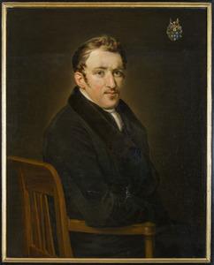 Portret van John Bake (1787-1864)