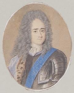 Portret van Anton II von Aldenburg (1681-1738)