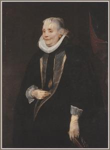 Portret van een onbekende weduwe