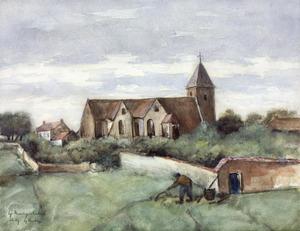 Kerk te Chailly, bij Barbizon