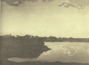 Wolkenspiegeling