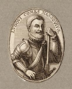 Portret van Lodewijk van Nassau (1538-1574)