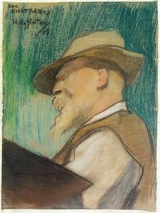 Portret van Evert Pieters (1856-1932)
