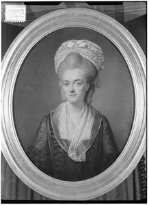 Portret van Johanna Catharina Fagel (1747-1833)
