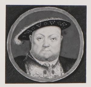 Portret van Henry Tudor (1491-1547), koning van Engeland
