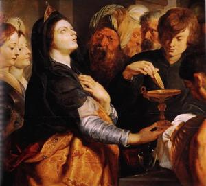 De toewijding van Artemisia