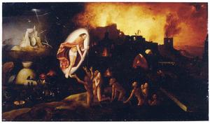 Christus bevrijdt de zielen uit het voorgeborchte