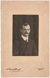 Portret van Jacob Andreas Lambrechtsen (1884-1928)
