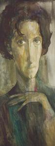 Portret van Christi Frisch (1921-2002)