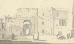 Rome, Porta del Popolo