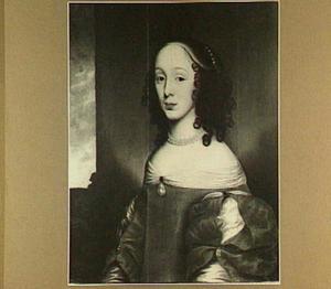 Portret van Anna Christina de Sighers (1633-1678)