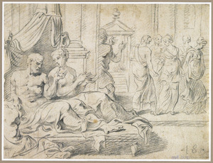Odysseus vertelt Penelope over zijn avonturen
