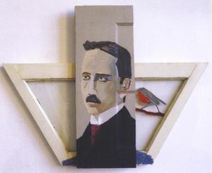 Portret van Willem Elsschot (1882-1960)