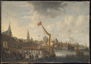 Aankomst van St. Norbertus in Antwerpen in 1121