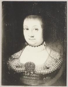 Portret van mogelijk Margaretha van Holstein-Sonderburg (1583-1658)