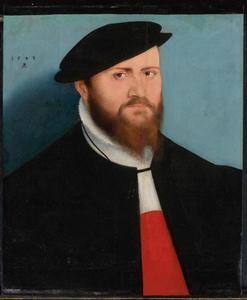 Portret van man met hoed